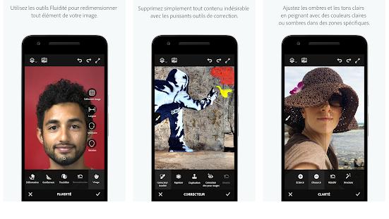 Les Meilleures applications pour éditer des photos sur mobile en 2018 5