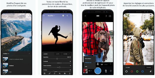 Les Meilleures applications pour éditer des photos sur mobile en 2018 6