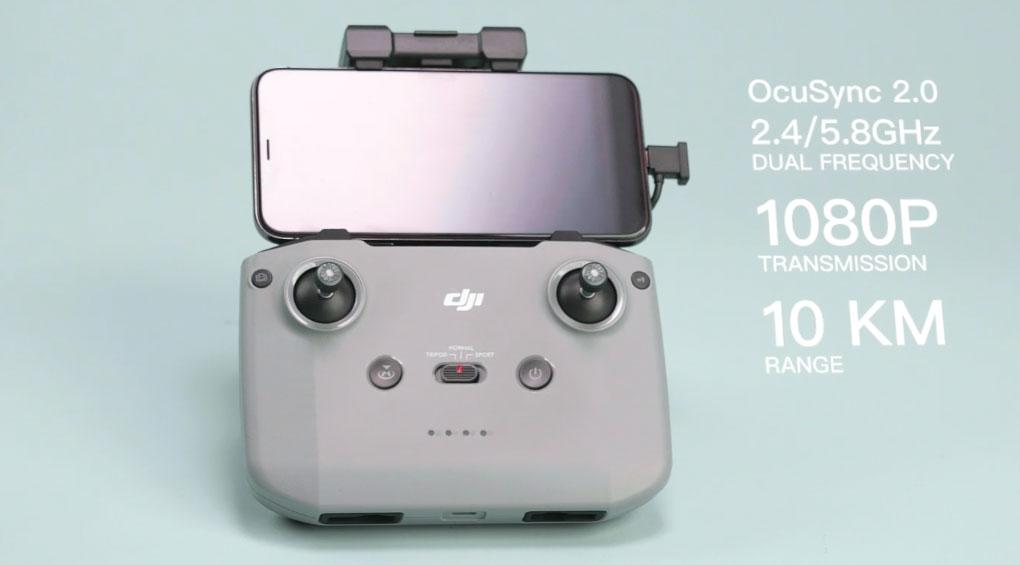 DJI lance Mavic Air 2 avec une batterie améliorée et un nouveau contrôleur 2