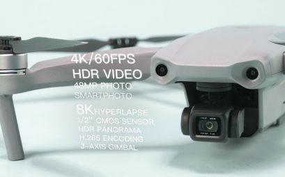 DJI lance Mavic Air 2 avec une batterie améliorée et un nouveau contrôleur 4