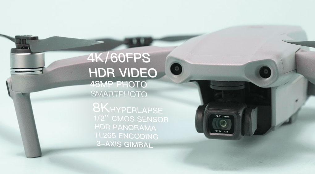 DJI lance Mavic Air 2 avec une batterie améliorée et un nouveau contrôleur 1