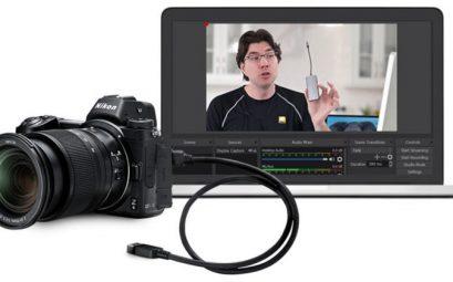 Nikon lance la version bêta de son application Webcam pour simplifier le streaming vidéo depuis ses boîtiers 4