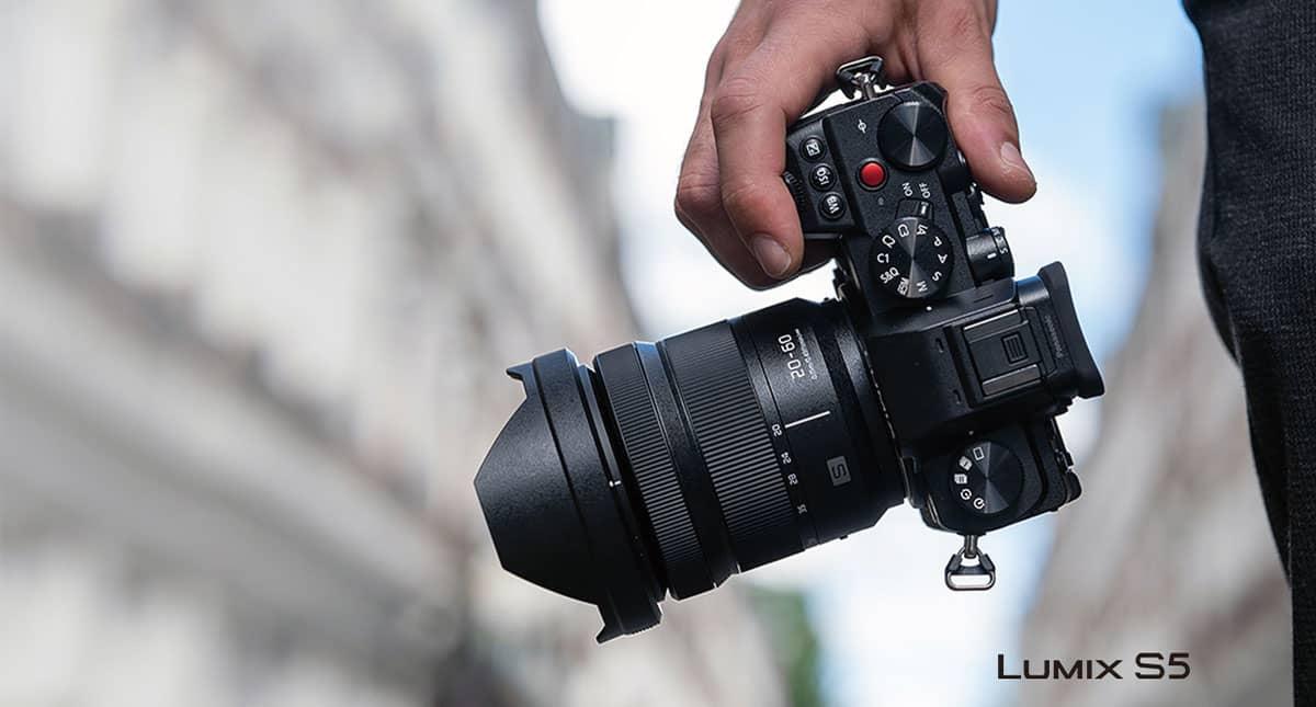 Panasonic présente un nouvel appareil photo hybride pour la photo et la vidéo avec le Lumix S5 1