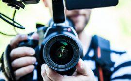 caméra youtubeur